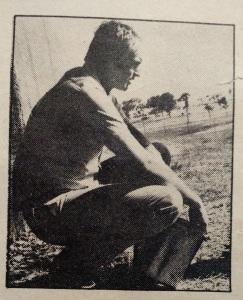Doug Porter at Busch Gardens - 1972